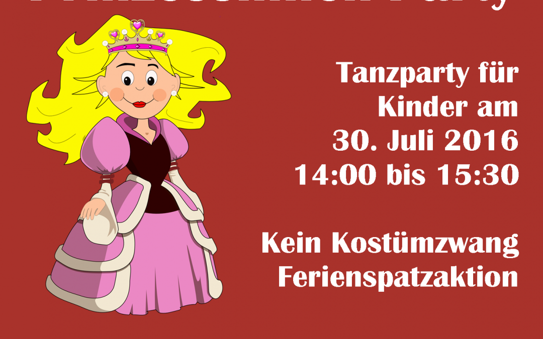 "Kinder-Mottoparty ""Prinzessin"""