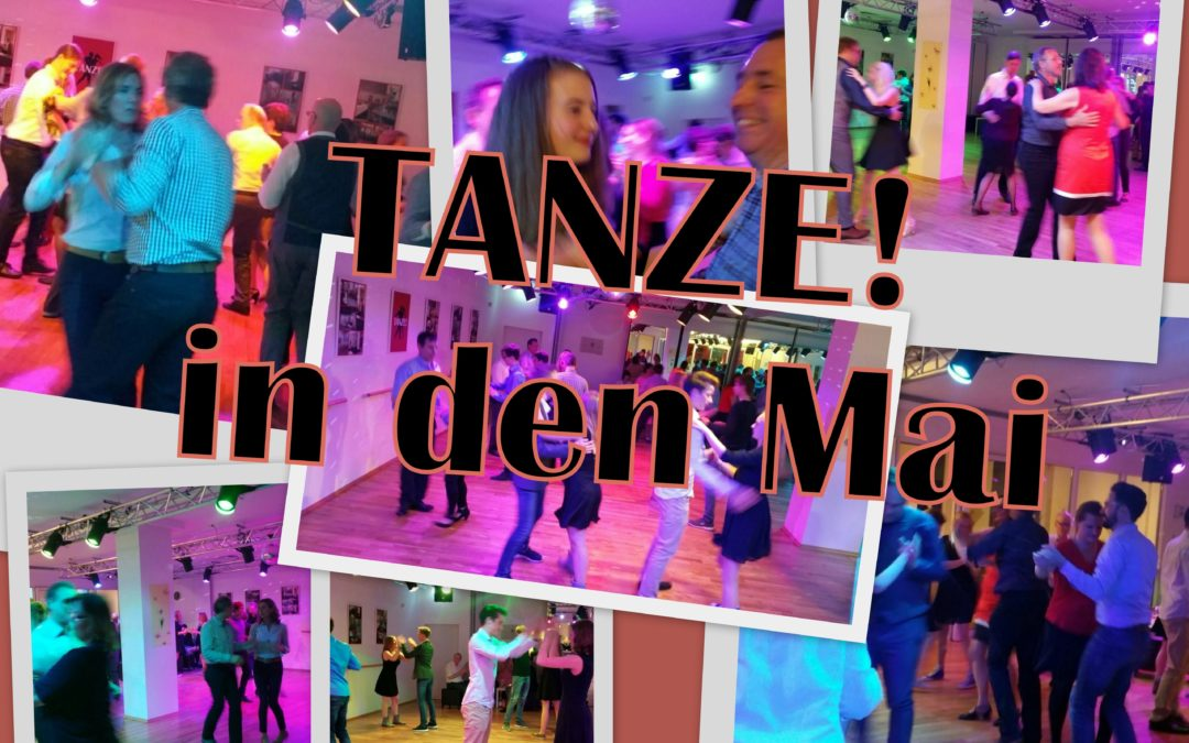 anzschule Anna Nagel - Tanz in den Mai 2017 - Collage